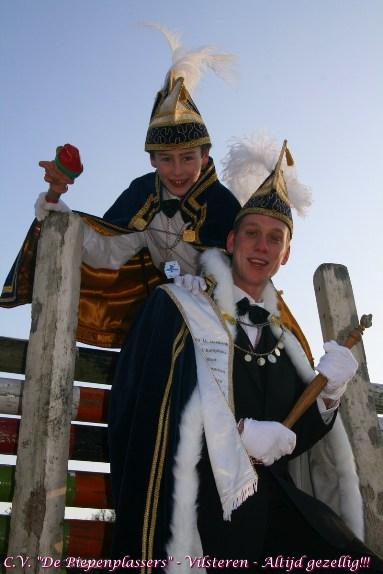 2011 - Prins Jaboo en Jeugprins Thijssie de 1ste van de Piepenplas