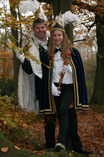 2014 - Prins Bas van de Piepenplas en Jeugdprinses Roos Grandioos de Laatste