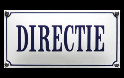 Bericht van de directie